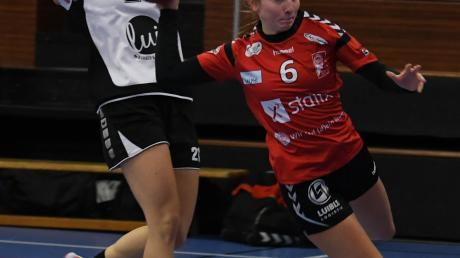 Tempo ist ein Trumpf der Günzburgerinnen (hier Antonia Leis im Spiel gegen Sulzbach-Rosenberg).