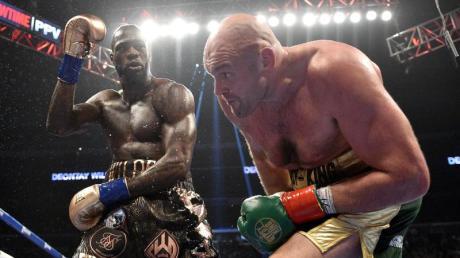 Deontay Wilder (links) setzte Tyson Fury im Dezember 2018 mächtig zu. 2020 kommt es zum Rückkampf.