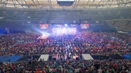 Die German Darts Masters fanden im Jahr 2018 in der Gelsenkirchener Veltins-Arena statt.