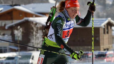 Ob Laura Dahlmeier beim letzten Weltcup des Jahres startet, ist offen.