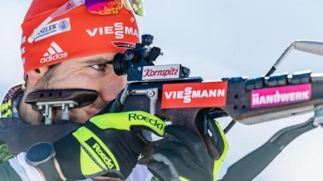 Hat mit den deutschen Biathleten den Heimweltcup in Oberhof im Visier: Arnd Peiffer.