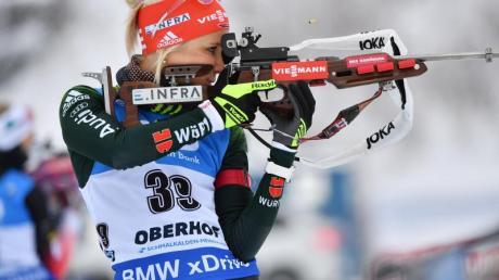 Karolin Horchler war mit Platz 34 beste Deutsche. Foto: Martin Schutt