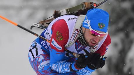 Gewann in Oberhof den Sprint: Alexander Loginow.