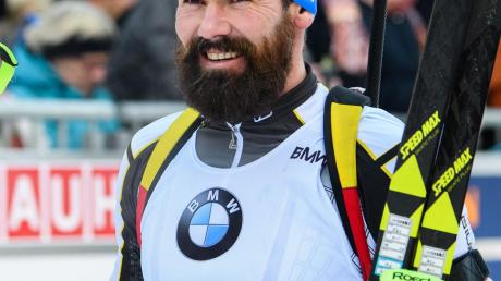 Kind statt Biathlon: Michael Rösch freut sich auf die Zukunft.