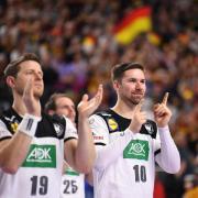 19.250 Zuschauern in Köln feierten die Mannschaft nach dem Schlusspfiff. Foto: Marius Becker