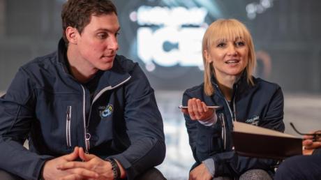Gold-Paar: Bruno Massot (l) und Aljona Savchenko.