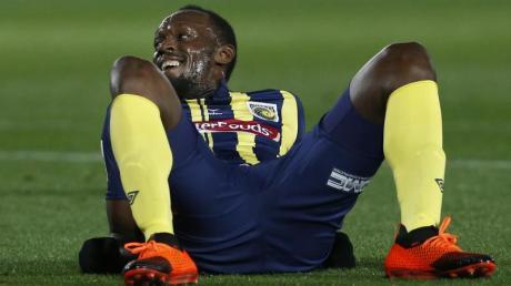 Sprintstar Usain Bolt wird doch kein Fußball-Profi.
