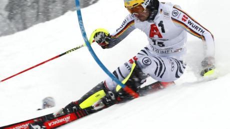 Verpasste in Kitzbühel die Top-10: Felix Neureuther. Foto: Gabriele Facciotti/AP