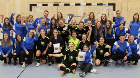 Zum zweiten Mal gewannen die Frauen des SC Biberbach das eigene Turnier um den Rathaus-Apotheken-Cup.