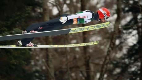 Markus Eisenbichler sprang in Oberstdorf auf Rang drei.