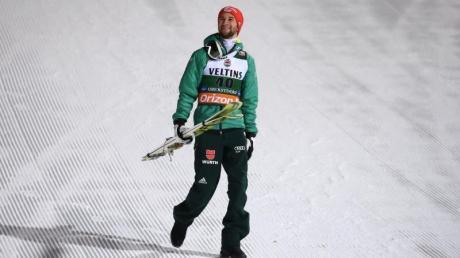 Nach Rand drei für Markus Eisenbichler wollen die deutschen Adler erneut aufs Podest in Oberstdorf.