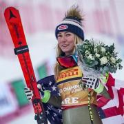 Mikaela Shiffrin aus den USA gewann den Super G in Are. Foto: Michael Kappeler