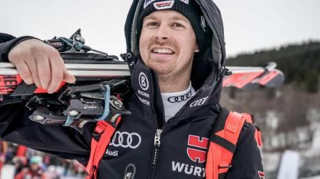 Will für Deutschland die zweite Medaille bei der Ski-WM in Are einfahren: Stefan Luitz. Foto: Michael Kappeler
