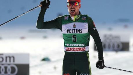 Der Aufstieg zumRekordweltmeister und Olympiasieger hat Johannes Rydzek verändert. Foto: Andrea Solero/ANSA/AP