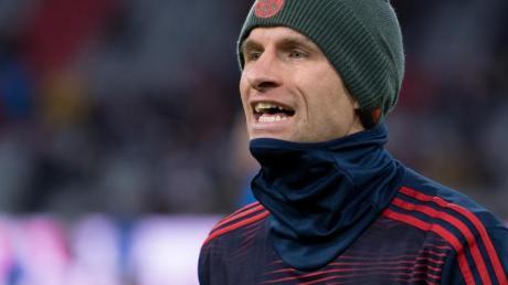 Beim FC Bayern momentan nur Reservist: Thomas Müller.