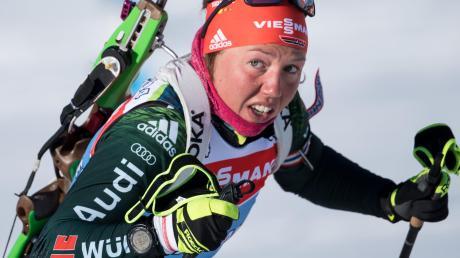 Wenn Laura Dahlmeier ihre gesundheitlichen Probleme in den Griff bekommt, ist sie eine Medaillenkandidatin für die Biathlon-WM in Östersund.
