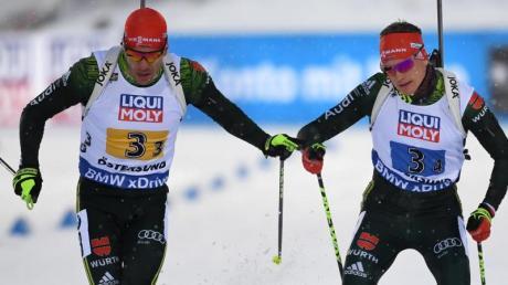 Wollen Branchenstar Bö die Stirn zeigen: Arnd Peiffer (links) und Benedikt Doll.