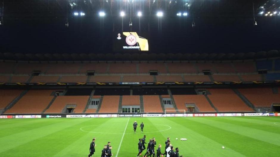 Europa League Ruckspiel Eintracht Frankfurt Vs Inter