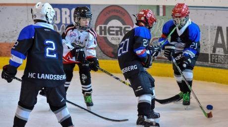 Die zweite Mannschaft des HC Landsberg spielte gegen den Nachwuchs aus dem italienischen Meran.