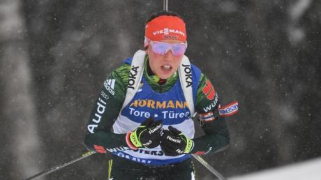 Hat ihr Karriere-Ende bekanntgegeben: Biathlon-Olympiasiegerin Laura Dahlmeier.