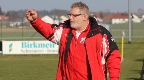 Magnus Hoffmann hört als Trainer des TSV Aindling II auf.
