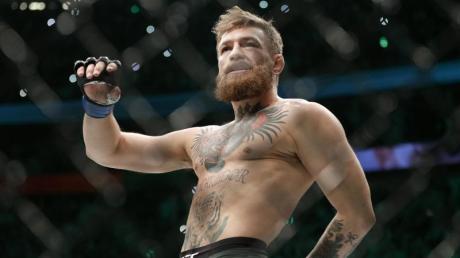 Sorgte mit einem angeblichen Rücktritt für Wirbel:UFC-Star Conor McGregor. Foto: John Locher/AP