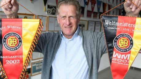 Der ehemalige Eishockey-Bundestrainer Hans Zach wird am 30. März 70 Jahre alt.