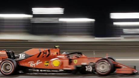 Fuhr in Sakhir auf die Pole-Position: Ferrari-Pilot Charles Leclerc.