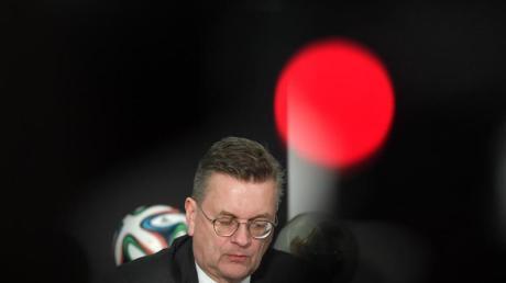 Reinhard Grindel ist als Präsident des Deutschen Fußball-Bundes zurückgetreten. Foto: Boris Roessler