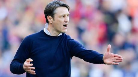 Trainer Niko Kovac will mit dem FC Bayern München ins Pokal-Halbfinale.