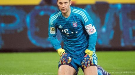Der FCBayern München muss auch gegen Heidenheim auf Torwart Manuel Neuer verzichten.