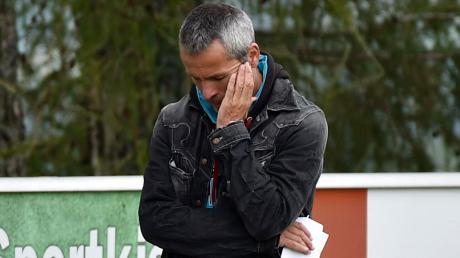 Noch läuft es für Finnings Trainer Hermann Aßfalg und sein Team nicht nach Plan.