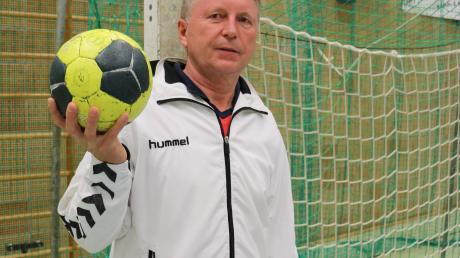 TSV-Trainer Udo Mesch und seine Niederraunauer Handballer fahren zuversichtlich nach Ottobeuren.