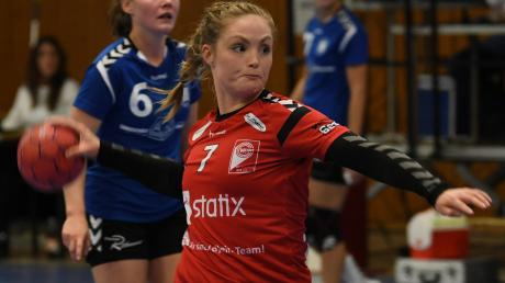 Im Hinspiel überrannten Tanja Stoll und Co. den SC Schwabach mit 41:25. Gelingt das auch im Rückspiel?