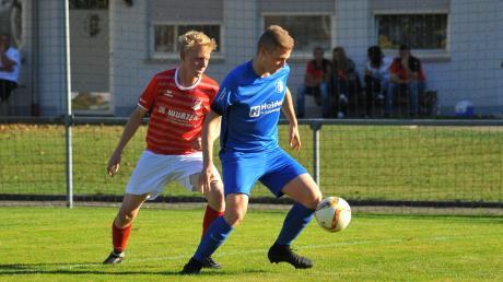 Lukas Piller (links) wechselt zur DJK Gebenhofen.