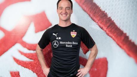 Nico Willig wird beim VfB Stuttgart als Interimscoach vorgestellt.
