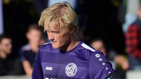 Erzielte am Mittwoch in Oberweikertshofen den wichtigen Treffer zum 2:0: Neuburgs Rainer Meisinger.