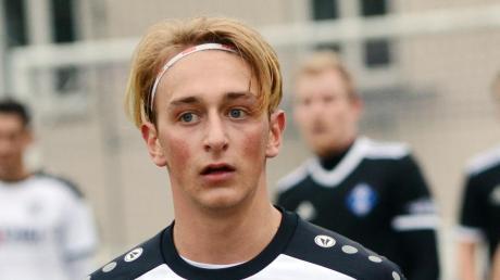 Musste zuletzt in Oberweikertshofen angeschlagen runter, ist heute aber wieder einsatzfähig: VfR-Youngster Niklas Golling.