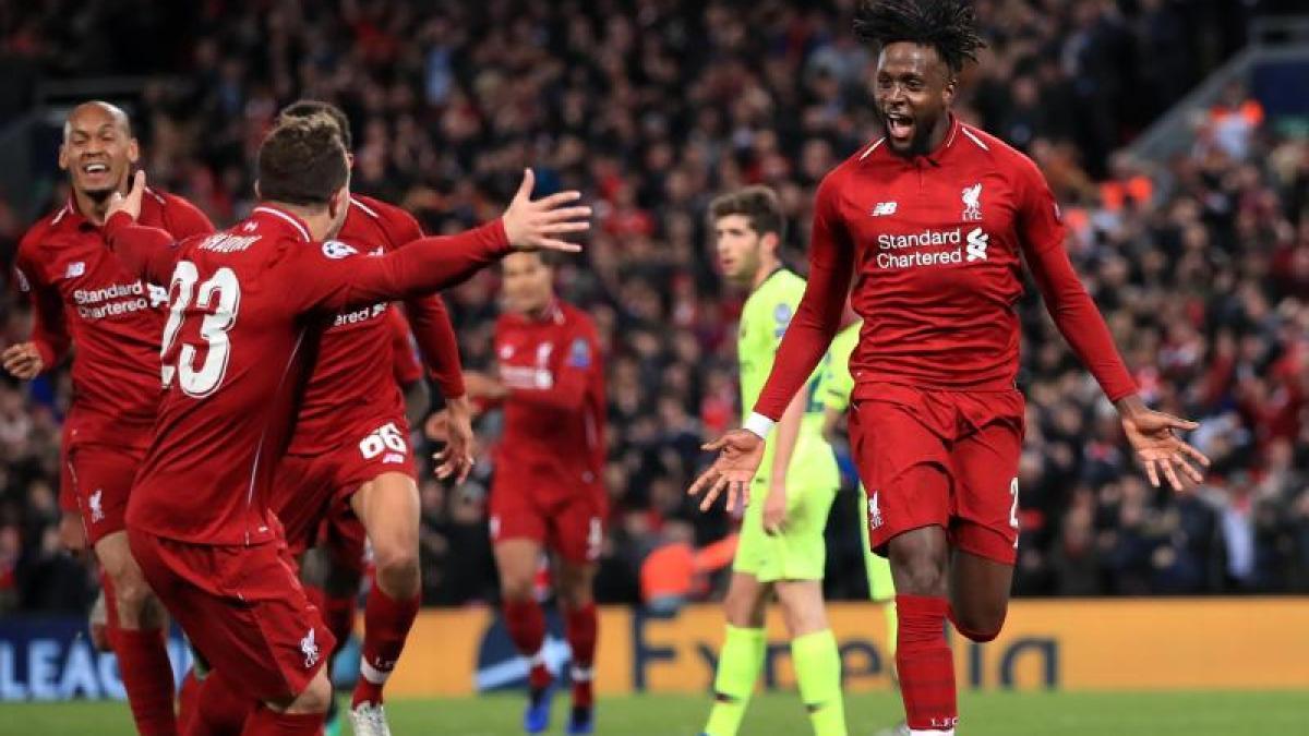 FuГџball Liverpool Gegen Barcelona