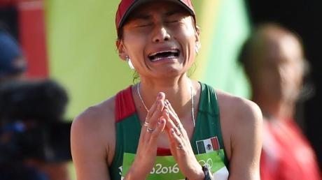 Wegen Dopings für vier Jahre gesperrt: Geherin Maria Guadalupe Gonzalez. Foto:Facundo Arrizabalaga