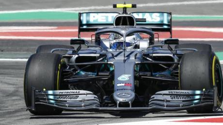 Schnellster im Training von Barcelona: Mercedes-Pilot Valtteri Bottas. Foto: Mikel Trigueros/gtres