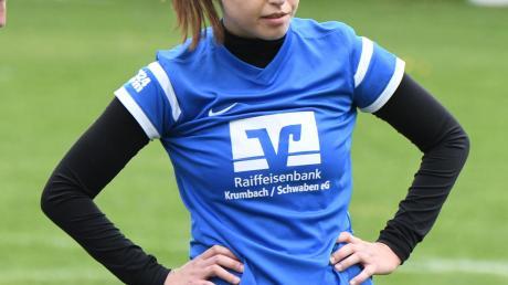 Jana Müller zeigte gegen Rückholz eine starke Leistung.