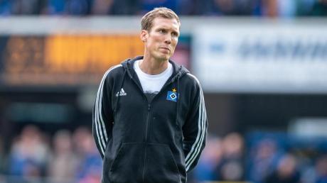 Noch Trainer beim HSV: Hannnes Wolf. Foto: Guido Kirchner