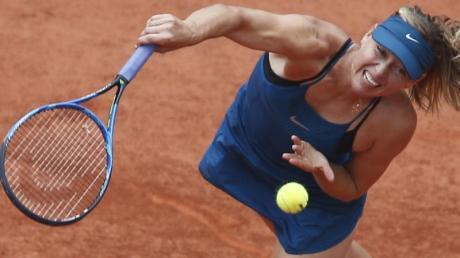Maria Scharapowa wird nicht bei den French Open aufschlagen. Foto: Thibault Camus/AP