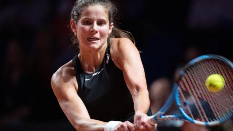 Gibt ihr Comeback bei den French-Open:Die deutsche Tennishoffnung Julia Görges. Foto: Marijan Murat