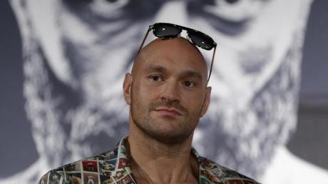 Boxprofi Tyson Fury kämpft in der Nacht zum Sonntag gegen Tom Schwarz.