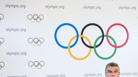 Thomas Bach ist vom Tempo der Olympia-Vorbereitung in Japan angetan.