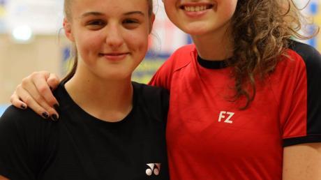 Ronja Hamm (links) und Lilli Cramer sind ein Topteam.