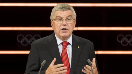 Betont die vereinende Rolle der Olympischen Spiele: Thomas Bach, Präsident des Internationales Olympisches Komitee.
