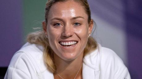 Angelique Kerber freut sich auf Wimbledon. Foto: Ben Solomon/Pool AELTC/AP